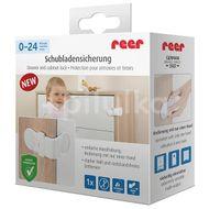 Siguranta pentru blocare sertare si usi de dulapuri REER 71050