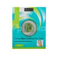 Paduri răcoritoare pentru ochi cu extract de castravete, Beauty Formulas, 12 buc