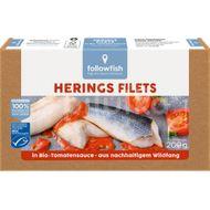 File de hering in sos te tomate bio , Followfish