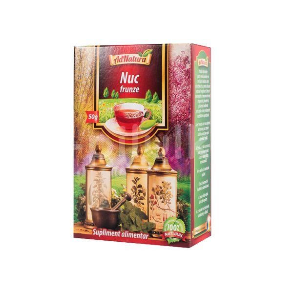 Ceai de Nuc- Frunze, AdNatura, 50 gr