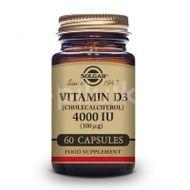 VITAMIN D3 4000 UI capsule vegetale 60cps, SOLGAR