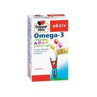 DoppelHerz Omega 3 Copii, Queisser Pharma, 30cps