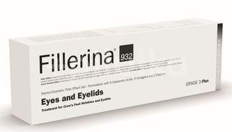 Gel dermato-cosmetic cu efect de umplere pentru ochi si pleoape Fillerina 932 Grad 3 Plus, 15 ml