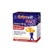 Gripovit MAXC Vitamina C 850mg fara zahar, Zdrovit, 10 plicuri
