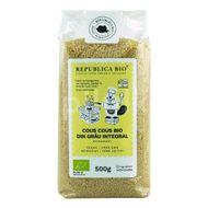 Cous Cous Bio din grâu integral, Republica Bio, 500 g