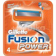 Rezerve Aparat De Ras Power, Gillette Fusion, 4 buc