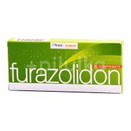 Furazolidon 100 mg, Terapia , 20cpr