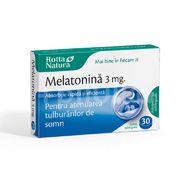 Melatonină 3 mg, Rotta Natura, 30 tablete orodispersabile