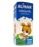 Calciu +  D3 Sirop, Alinan, 150 ml