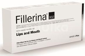 Gel dermato-cosmetic cu efect de umplere pentru buze si conturul buzelor, Fillerina 932 Grad 4 Plus, 7 ml