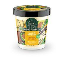 Crema de corp delicioasa Banana Milkshake, 450 ml - Organic Shop Body Desserts