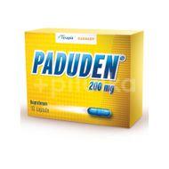 Paduden 200 mg, Terapia, 10cps