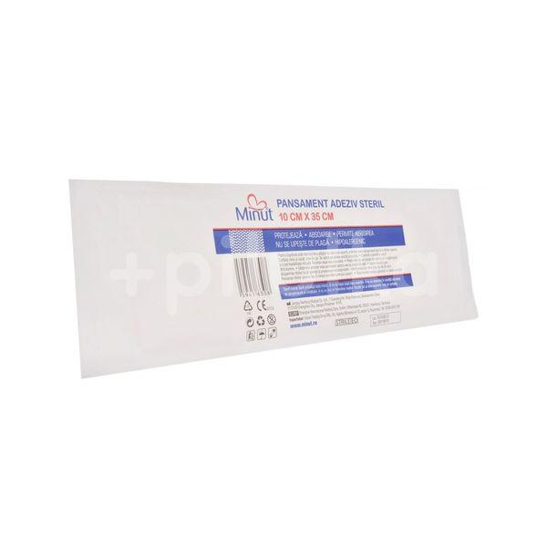 Pansament adeziv steril Pore, Minut, 10cm x 35cm