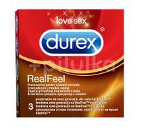 Prezervative Real Feel Durex, 3 buc