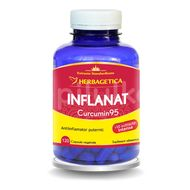 Inflanat + Curcumin95, Herbagetica, 120cps