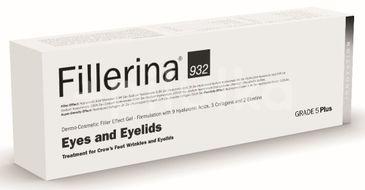 Gel dermato-cosmetic cu efect de umplere pentru ochi si pleoape Fillerina 932 Grad 5 Plus, 15 ml