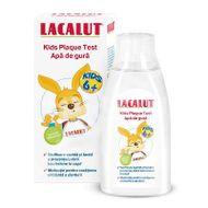 Apă de gură pentru copii peste 6 ani Lacalut Kids Plaque Test, 300 ml