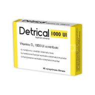 Detrical D3 1.000UI, Zdrovit, 60cpr