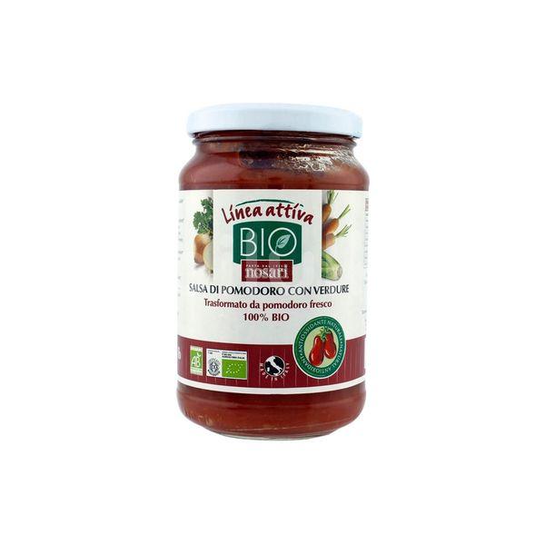 ECO Sos de roșii cu legume, Linea Attiva, 340 g