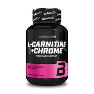 L-Carnitina + Crom, Biotech USA, 60 capsule