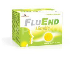 Fluend cu aromă de lămâie, Sun Wave Pharma, 20cpr