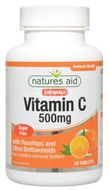 Vitamina C 500mg (fara zahar), Natures Aid, 50tb masticabile
