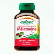 Melatonină 5 mg pentru un somn liniștit, 100 comprimate