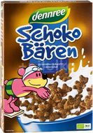 Cereale ursuleti de ciocolata bio , Dennree
