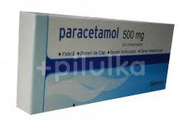 Paracetamol 500mg, Zentiva, 20cpr