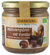 crema bio de castane cu vanilie, 380 g Danival