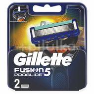 Rezervă Aprat De Ras Proglide manual, Gillette Fusion, 2 buc