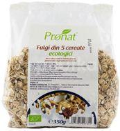 Fulgi din 5 cereale Bio, 350 g