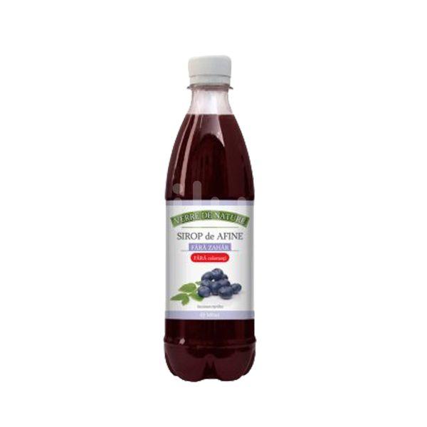 Sirop de afine fără zahăr, Manicos, 500 ml