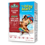 Fursecuri- ursuleți cu ciocolată Itsy Bitsy, Orgran, 175 g