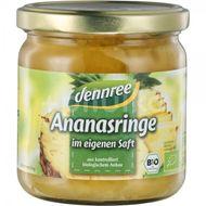 Inele de ananas in suc propriu , Dennree