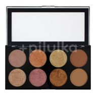 Paletă farduri de obraz Ultra Palette Golden Sugar 2 - Blush, Bronze & Highlight, Revolution, 13 g