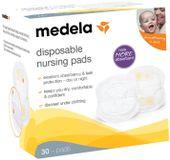 Tampoane antiscurgere pentru sân de unică folosință Medela, 30 buc