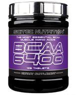 BCAA 6400, Scitec Nutrition, 125 tbs