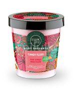 Jeleu-spuma de baie antistress Candy Floss, 450 ml - Organic Shop Body Desserts
