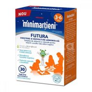Minimartieni Futura pentru copii intre 3-6ani, Walmark, 30tb masticabile
