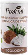 Chipsuri deshidratate din nuca de cocos, Bio, 110 g