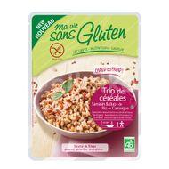 Trio cereale natur - produs fara gluten gata preparat 220g