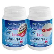 Luteina Omega 3, Bio Synergie, 30 cps, 1+1 Gratis