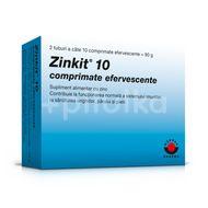 Zinkit 10, Worwag Pharma, 20tb. efervescente