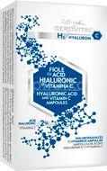 Fiole cu acid hialuronic și vitamina C Gerovital H3 Hyaluron C, 10 fiole x 2 ml