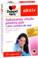 Doppelherz Aktiv Substanțe vitale pentru păr, 30 capsule