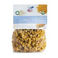 Paste Fusilli din orez cu turmeric fără gluten ECO, La Finestra Sul Cielo,  250g