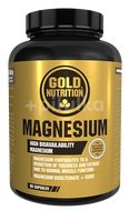Magneziu 600 mg, Gold Nutrition, 60 cps