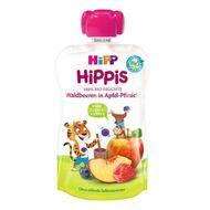 Hippis Piure de fructe- măr, piersică și fructe de pădure, Hipp, 100 g