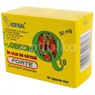 Coenzima Q10 în ulei de Cătină Forte, Hofigal, 40 cps moi